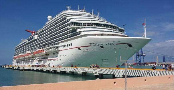API Progreso recibe nuevamente al Carnival Magic
